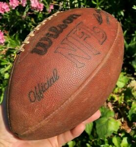 Official Wilson NFL National Football League Pete Rozelle Leather Pro Game Ball