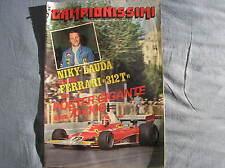 CARTELES FERRARI 312 T NIKY LAUDA GP F1 SUPERESTRELLAS AÑO II N.1