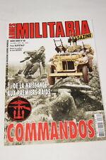 MILITARIA MAGAZINE HORS SERIE N°68 COMMANDOS PREMIERS RAIDS