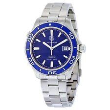 NEW Tag Heuer WAK2111.BA0830 Mens Aquaracer 500M Calibre 5 Blue Automatic Watch