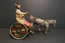 All Original LEHMANN Balky Mule Mechanical Tin Toy Germany 1910