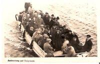 AK Ansichtskarte Ausbootung auf Helgoland / Deutschland 1923