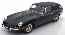 Schuco Jaguar E Type Shooting Break hearse Black in 1/18 Scale New Release!