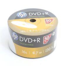 DVD+R 16x HP FF InkJet Printable Bobina 50 uds