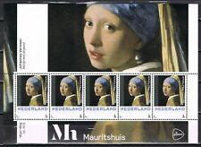 3012-E-4/11 persoonlijke postzegels - 8 vellen Heropening Museum Mauritshuis