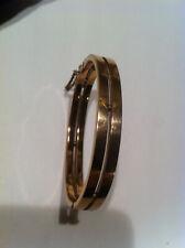 ancien bracelet 1930 en plaqué or rose