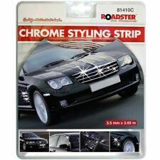 Chrome Detail Styling Self Adhesive Strip Car Edging Moulding Trim 3.5mm x 3.65m