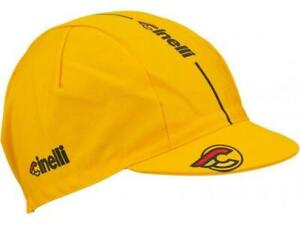 Cinelli SuperCorsa Cycling Cap in Yellow