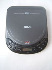 RCA Portable CD Player RP7926-A Personal Black Tested Works