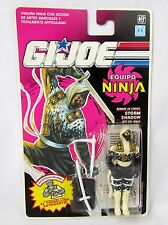 1991 1992 GI JOE COBRA ARAH Vintage STORM SHADOW NINJA FORCE MOC Card Variant