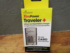 BRAND NEW ProMaster - Traveler + Charger for most CASIO Batteries 3021