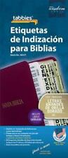 Large Print Spanish Bible Indexing Tabs: Bible Indexing Tabs With Booklet
