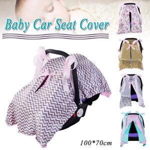 Baby Stroller Pram Car Seat Cover Breathable Muslin Sun Shade Canopy Blanket New