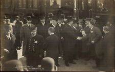 President William Taft in Decatur IL 1911 Real Photo Postcard dcn