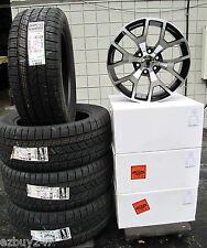 "20"" New GMC Yukon Sierra Factory Style Machined Black Wheels GoodYear Tires 5656"