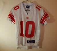 Eli Manning New York Giants NFL Football Jersey REEBOK Size YOUTH SMALL 8