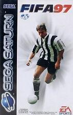 ## SEGA SATURN - FIFA 97 (in OVP, aber mit Gebrauchsspuren) ##
