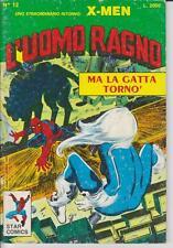 L'UOMO RAGNO N. 12 - SENZA  BOLLINO PERCHE' RITAGLIATO -  STAR COMICS