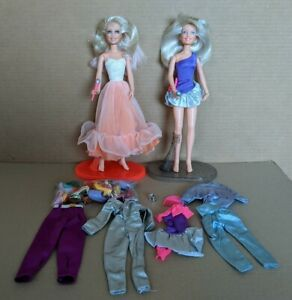 Glitter n Gold JEM by HASBRO 1985 & 2nd Jem Many Shoes, clothing & access.