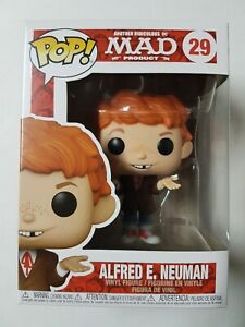 Funko Pop Mad #29 Alfred E. Neuman Figure Brand New
