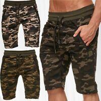 Pantalon survêtement jogging Camouflage sport Fitness Stretch Waistband Shorts