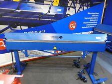 ABKANTBANK 2,14M/1,2MM+ROLLENSCHERE+ 160 Grad Biegemaschine Hersteller Kantbank