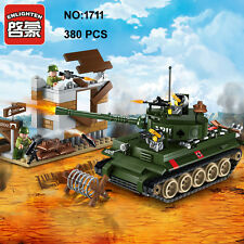 Enlighten 1711 Military Army Tank Gun Soldier Building Block Toys