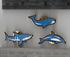 Dolphin, Shark & Whale - RSPB pin badge interest?