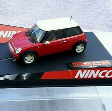 "NINCO MINI COOPER ""RED"" Ref 50275. NUEVO EN SU CAJA ORIGINAL."