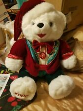 Collectible 2006 Christmas Bear  please go to my page and see other items that I