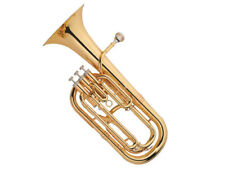 Baritone Horn Outfit B Flat Bb Key Brass Instrument With Case,Mouthpiece
