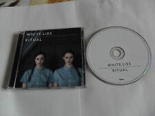WHITE LIES - Ritual (CD 2011) English post-punk
