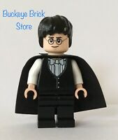 Lego Harry Potter YULE BALL VEST & Bow Tie & New Black Cape Minifig Minifigure