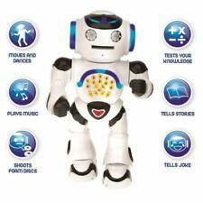 Lexibook ROB50EN Powerman Educational Talking Remote Control Robot