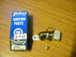 Mallory 24831 points 1947-1966 Ford Lincoln Mercury Edsel Comet Tractor Falcon