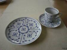 Kaffeegedeck 3 tlg.   indischblau Winterling Porzellan Neu