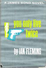 IAN FLEMING YOU ONLY LIVE TWICE - 1964 w/DJ