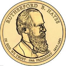 "2011 P Rutherford B Hayes Presidential Dollar ""Brilliant Uncirculated"" US Coin"