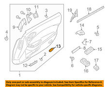 NISSAN OEM 09-18 370Z Door-Step Lamp 264212Y000