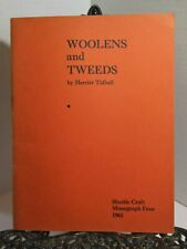 Weaving Woolens And Tweeds by Harriet Tidball Swedish Scottish District Checks