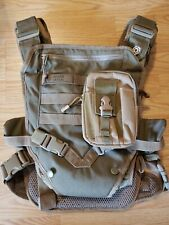 Mission Critical Action Baby Carrier Coyote Tan With Extra Bottle/Wipe Pouch