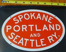 Microscale Metal Sign #10042 Spokane Portland and Ry. (Die Cut, Metal Sign)