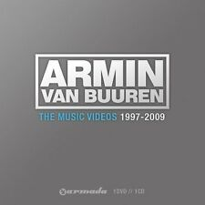 ARMIN VAN BUUREN THE MUSIC VIDEOS 1997-2009 DVD ALL REGIONS & CD NEW