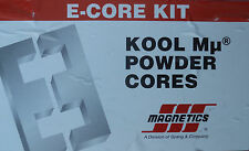 MAGNETICS E-CORE KOOL Mu POWDER CORES COMPLETE SAMPLE KIT as shown
