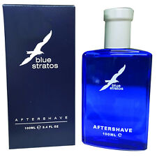 Blue Stratos 100ml Aftershave Lotion - BRAND NEW & BOXED
