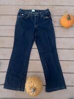 Izod Women's Kick Bootcut Jeans Size 8 Short 30in Petite (short)