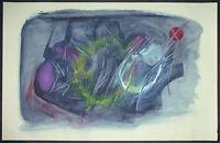Alexander Camaro, Orig. Zeichnung 70er, signiert, (Sylt/Informel/Mueller/Wigman)