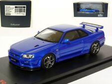 Mark43 PM4301BL 1/43 Nissan Skyline GT-R V-spec II BNR34 Resin Model Car