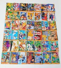 Lot 42 Pocket Monsters Anime Collection Carddass Vintage Japanese Pokemon Cards