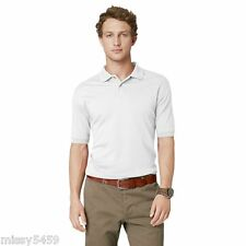 ARROW Men's White Classic Fit Cool Cotton Polo Shirt Size M NWOTS!